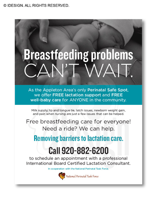 Appleton Perinatal Safe Spot Flyer